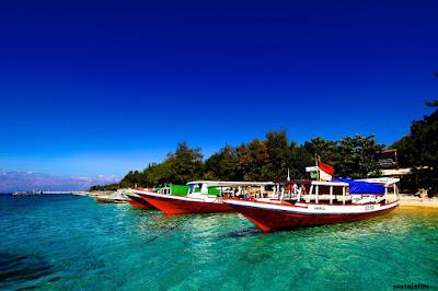 nuansa romantis pulau gili trawangan