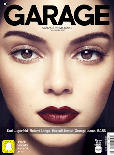 Garage Magazine Snapchat Code Secret Filters Willow Smith