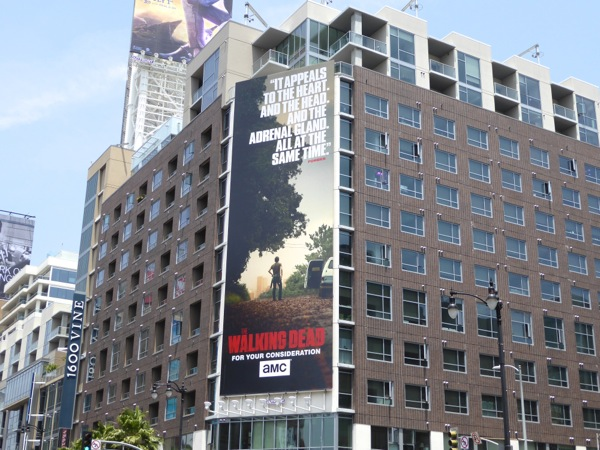 Walking Dead season 6 Emmy 2016 billboard