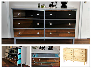 [IKEA HACK] Jak krok po kroku przerobić komodę Ikea Tarva w lustrzaną komodę glamour?