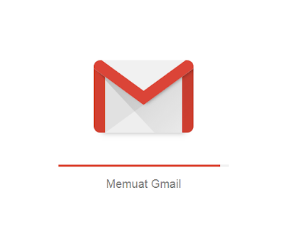 Halaman loading gmail