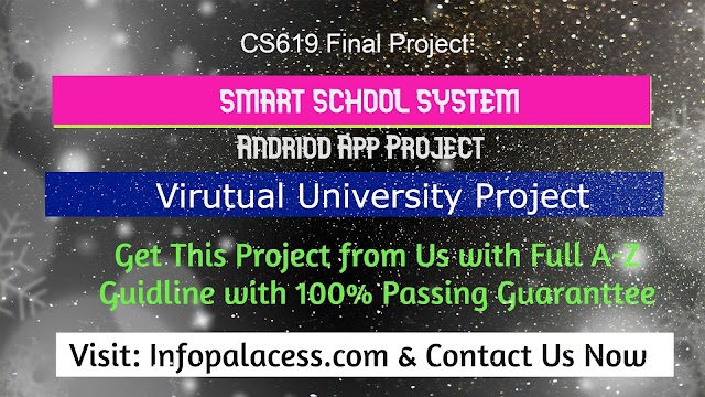 Smart School System Android Mobile App for Students/Parents Final Project