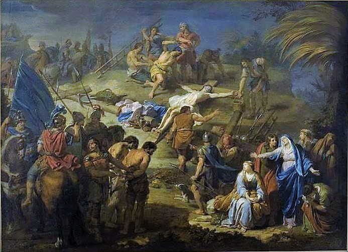 Ad Imaginem Dei: Stations of the Cross: The Eleventh Station, Jesus ...