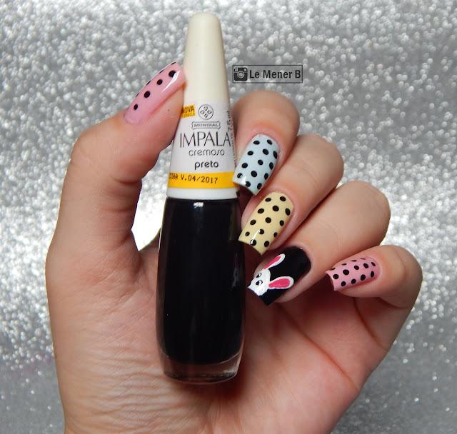 pascoa nail art