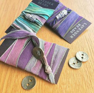 Andrea Kiernan's Lavender Wrap Bracelets Pelindaba Lavender Farm