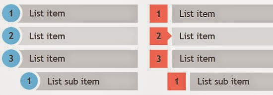 CSS3 ordered list styles