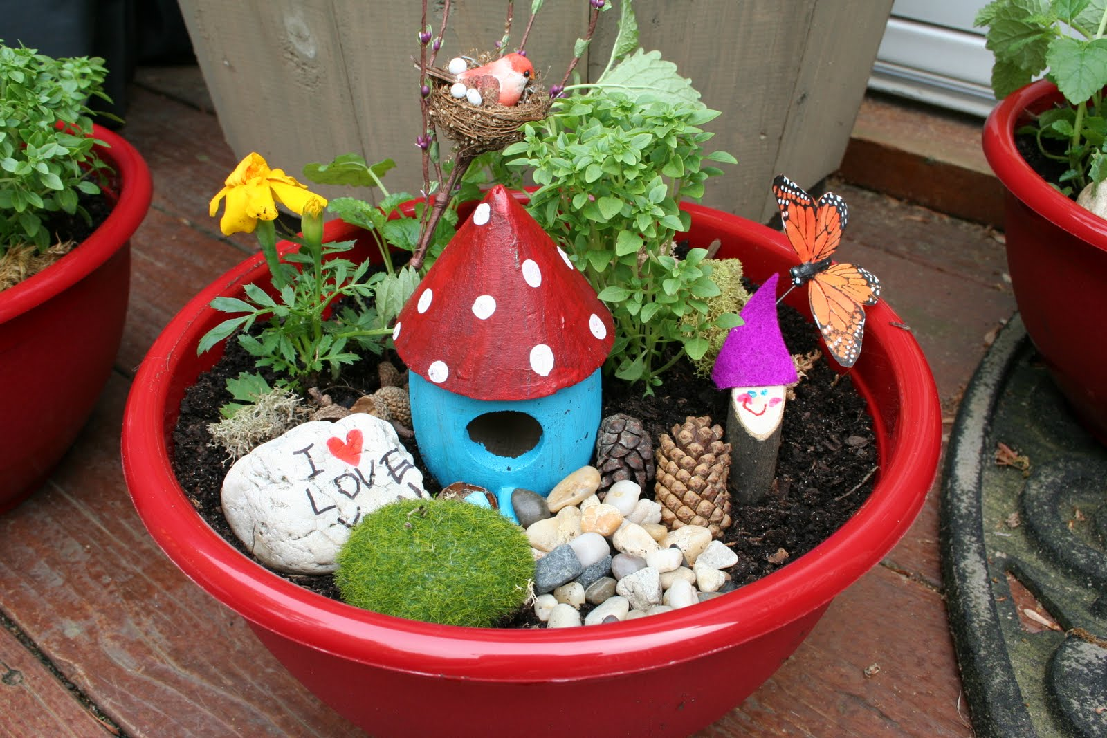 Teacher Appreciation Gift: Fairy Garden Bowls