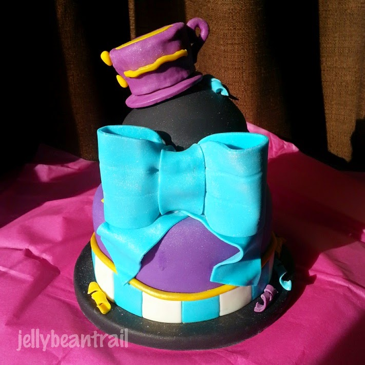 Madeline Hatter Ever After High Cake