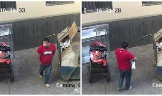 Πατέρας πετάει το μωρό του στα σκουπίδια επειδή νομίζει ότι είναι άρρωστο