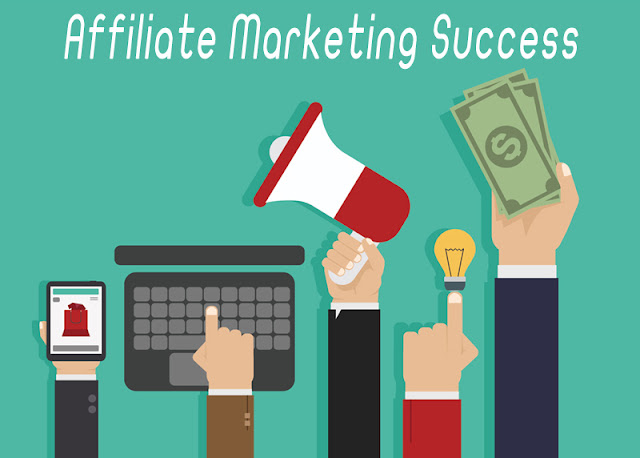 كيف تنجاح في مجال التسويق بالعمولة - Affiliate Marketing Success