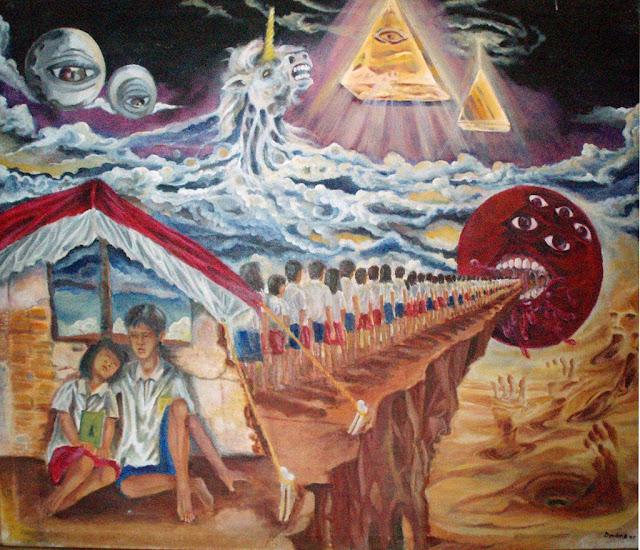 Contoh aliran seni lukis surealisme