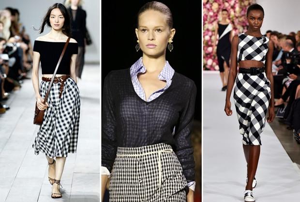 Como usar estampa vichy, moda verão 2018, Gingham