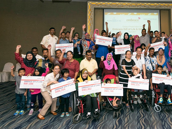 Embrace, Gift of Life and Gift of Limb - A CSR Project by Shangri-La's Resort Penang