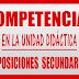 COMPETENCIAS CLAVE UNIDAD DIDÁCTICA OPOSICIONES LOMCE