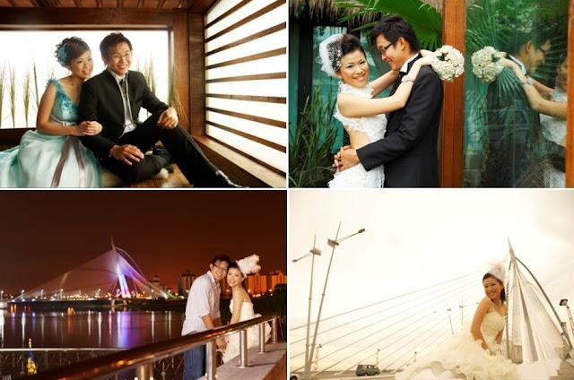 putrajaya wedding photo- bridge
