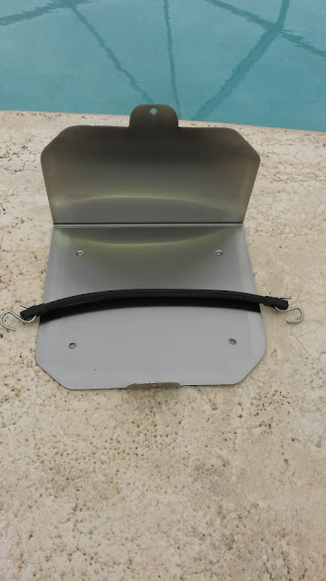 Mercury Outboard Stainless Steel Oil Tank Bracket