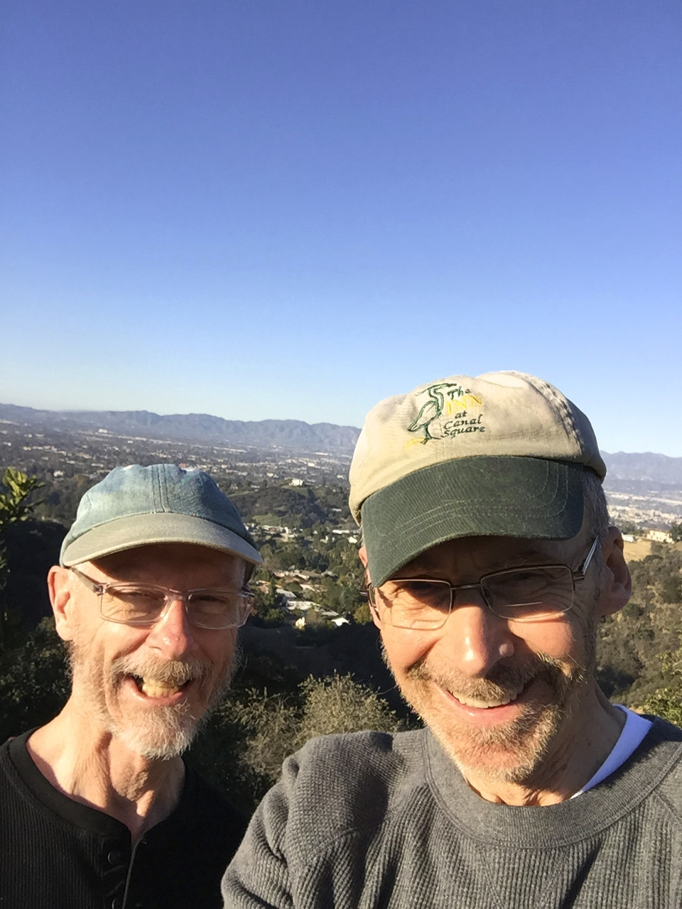 Ron and Pat in Hollywood Hills