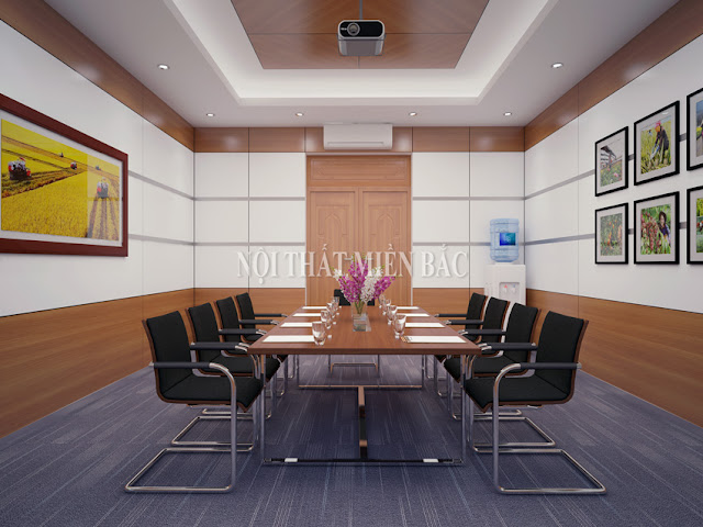 Tư vấn thiết kế nội thất phòng họp giá rẻ chất lượng tốt nhất - H2