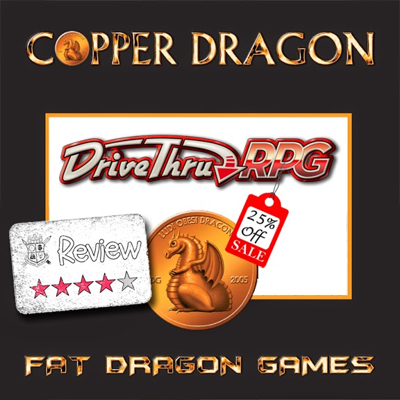 Frugal GM Review: Fat Dragon Games Copper Dragon Set (now 25% off!)