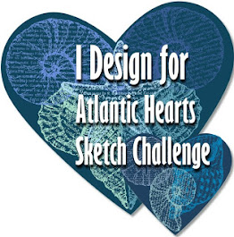 I Design for Atlantic Hearts Sketch Challenges