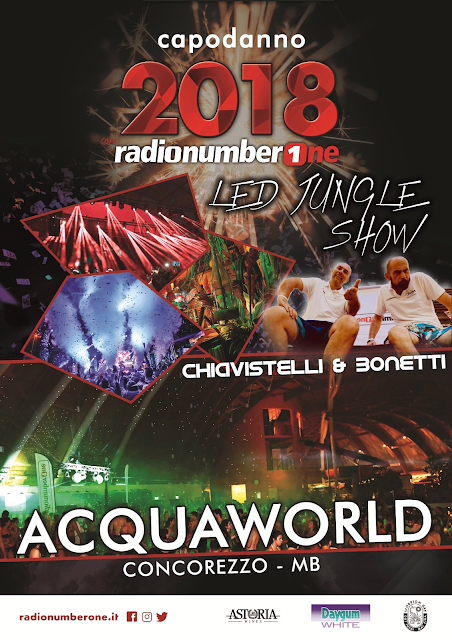 Capodanno 2018 - Radio Number One - Acquaworld - Chiavistelli & Bonetti