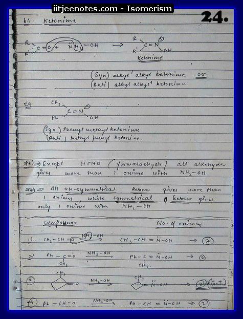 Isomerism Notes8
