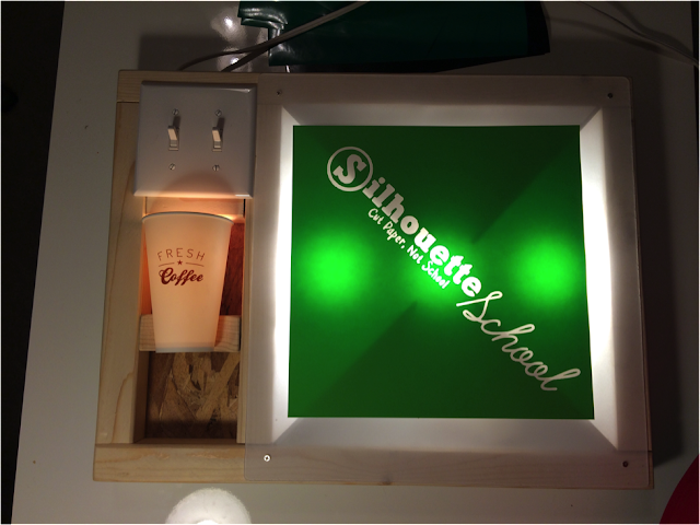 DIY, do it yourself, vinyl weeding lightbox, tumber holder