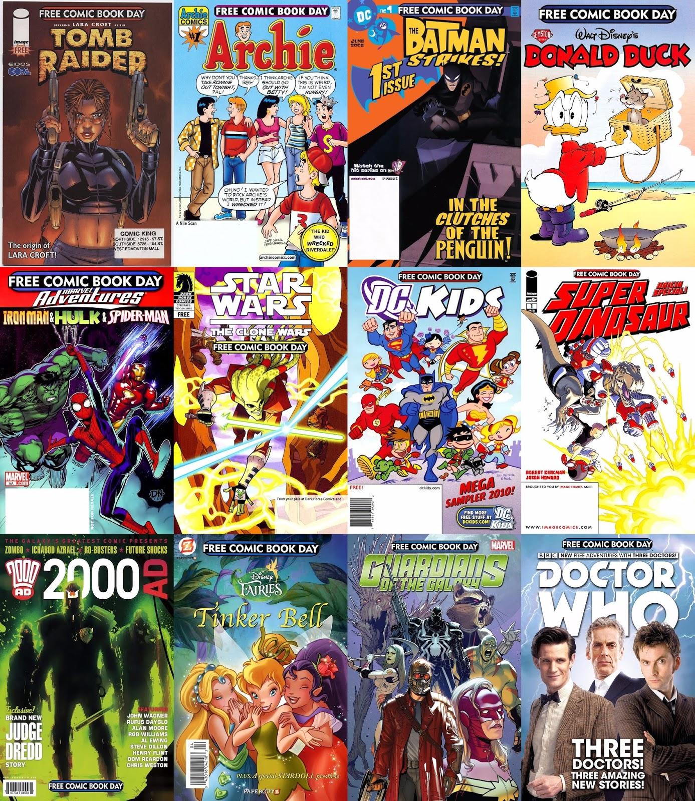Free Comic Book Day España: Free Comic Book Day (FCBD) (2002-2015) (scans+digital