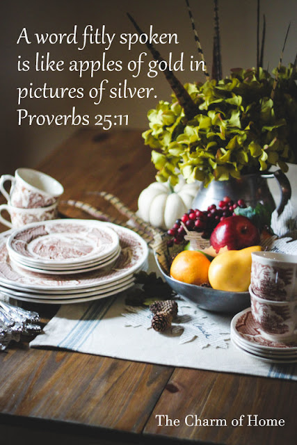 Proverbs 25:11: The Charm of Home