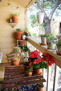 Small Balcony Garden ideas 14