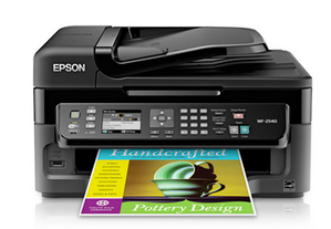 Epson WorkForce WF-2540 driver & software (Recommended)