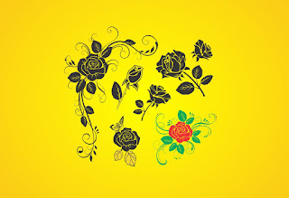 Free Vector : Hand Draw Flower Vector