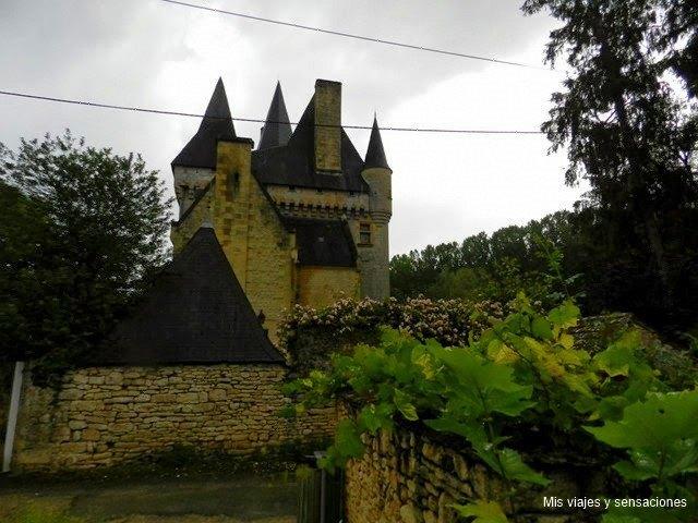 Castillo de Clérans, Saint-Léon-sur-Vézère, Pueblos del Périgord Negro, Francia