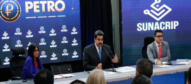 Maduro anunció que las transacciones de bienes e inmuebles deben hacerse en petros