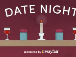 Stay at Home Date Night Idea - Sponsored by Wayfair!