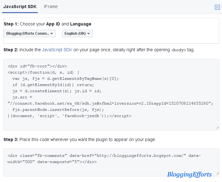 How to Add Facebook Comment Box Code in Website