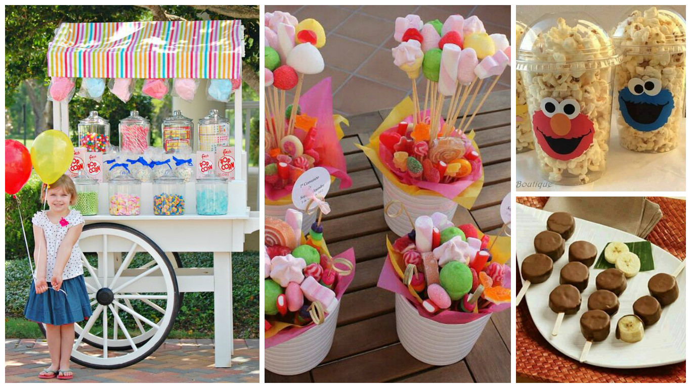 13 ideas para poner una mesa de dulces espectacular for Ideas para mesas dulces