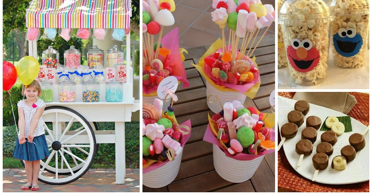 13 ideas para poner una mesa de dulces espectacular - Que poner en una merienda de cumpleanos ...