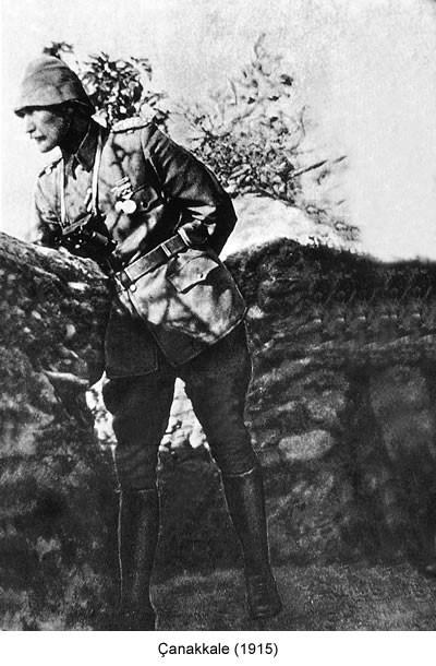 Atatürk Çanakkale 1915 Fotoğrafı