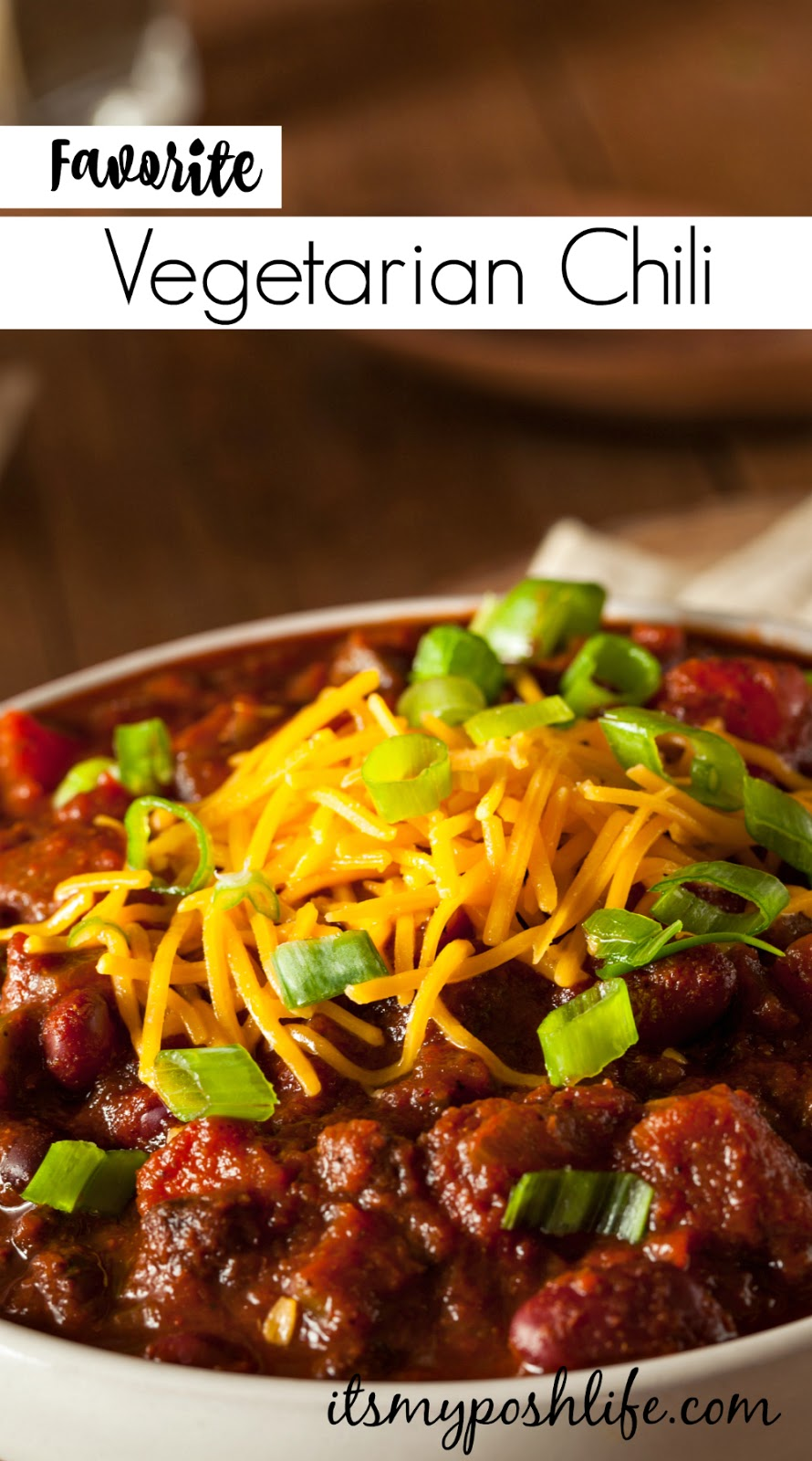 Favorite Vegetarian Chili Recipe