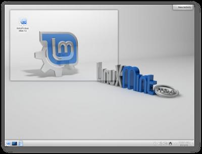 Linux mint 13 maya KDE RC