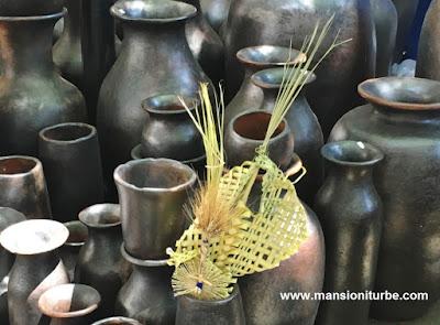 Arte Popular Mexicano de Michoacán en Uruapan en Domingo de Ramos