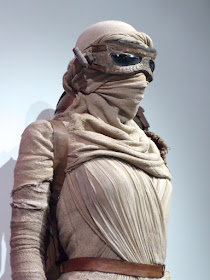 Star Wars Force Awakens Rey headdress mask