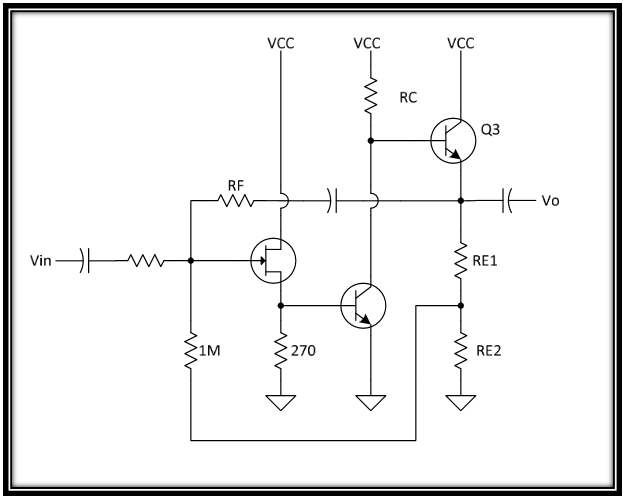A discrete op-amp for experiments