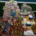 Alimentos foram arrecadados na final do campeonato de Acrelândia, alimentos serão distribuídos à famílias carentes.