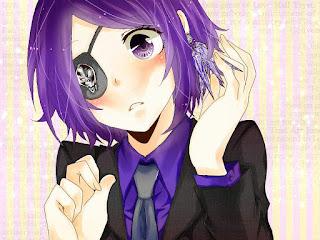 Rekomendasi Karakter Anime Dengan Penutup Mata Tercantik+Kawaii