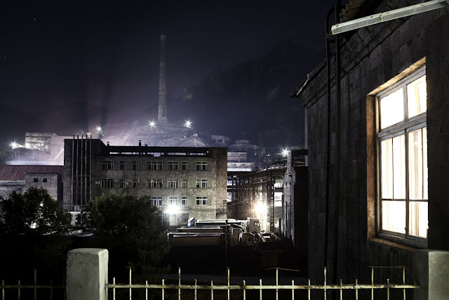 Image Attribute: The Alaverdi Copper Smelting Plant / Photo: Klaus Richter