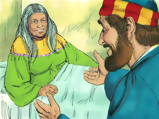BD : Pierre ressuscite Dorcas (Tabitha)