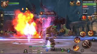 Crusaders of light MMORPG gameplay