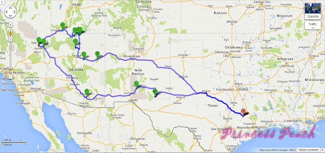 southwest-road-trip-map